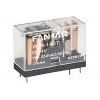 Buy cheap TV - 8 250VAC PCB Power Relay AgSnO2 Contact Material Transparent For Smart Home from wholesalers