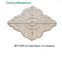 Quality American PU foam Ceiling fan holder / ceiling medallion for interior decorating for sale