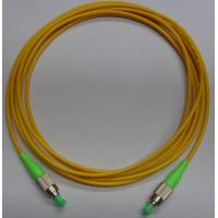 Buy 1, 2, 3 meter or customized Yellow color FC APC Fiber Optic Patch Cord with LSZH cable at wholesale prices