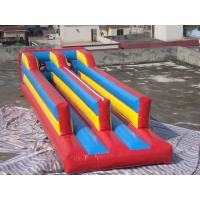 Quality Inflatable double lanes bungee trampoline for sale