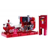 Buy cheap High Performance Split Case Fire Pump , Fire Fighting Water Pump 180kw Shaft from wholesalers