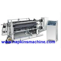 Quality Fully Automatic Adhesive Tape Sticker Paper Slitting Rewinding Machine for sale