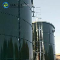 Bolted Steel Anaerobic Digestion Tank with Customized Tank Colors