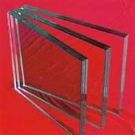 China 5mm, 6mm Safety fire rated glass for entrance doors with bear high temperature on sale