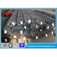 Quality High Hardness Unbreakable grinding steel rods for gold ming  HRC45-65 for sale