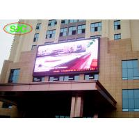 Quality Wall mounted outdoor full color p6 lightweight smd applied to any business building for sale