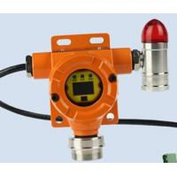 Quality Fixed gas sensor ch4 transmitter with remote controller and LCD display with alarm light for sale