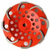 Buy cheap 8 segments L shape Top quality Diamond Grinding Cup Wheel for Griinding Concrete from wholesalers