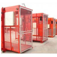 China Industrial Construction Hoist Elevator , High Stability Building Material Hoist on sale