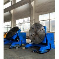 Quality 2000kg Rotary Welding Table Positioner with Rotating / Tilting Motor and Gear for sale