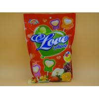 Quality Bag pack Heart Shape Lollipop Healthy Hard Candy / Low Cal Candy For Children baby candy for sale