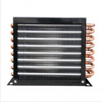 China FNA-1.1/5.0 Air Cooled Condenser , single fan refrigeration condenser coil on sale