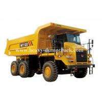 Quality Rated load 95 tons Off road Mining Dump Truck Tipper  405kW engine power drive 6x4 with 50m3 body cargo Volume for sale
