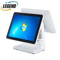 """Buy cheap Desktop All In One Pos System Dual Screen 15"""" 1024 X 768 Pixels CJ Legend T620CD from wholesalers"""