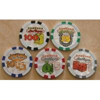 Quality Poker Chip with Shiny Sticker PT-09 for sale