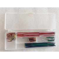 Quality U Shaped Wire Cable Box Breadboard And Wire Kit 140 Pcs / Set Breadboard Jumper Kit for sale