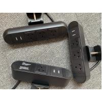 Buy cheap 110-250V Clamp Desk USB Power Outlet With GST 18/3 Plug CE CCC ROHS from wholesalers