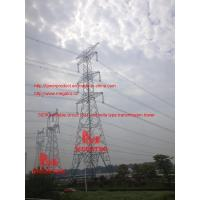 Quality 500KV double circuit  SJT umbrella type transmission tower for sale