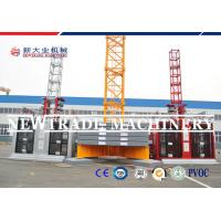 China SC100/100 Building Construction Material Hoist / Elevator With 3 Phase Motor on sale