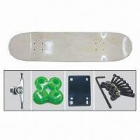 Quality 3108 DIY Skateboard, Contains Bearings, PU Casted Cushion, 50x36mm PU Wheel and 5 Alu Trucks/Base for sale