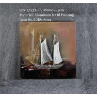 Quality Sailing Metal Wall Art Decor for sale