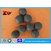 Quality Unbreakable forged grinding steel ball for Ball Mill And Iron Mine HRC 60-68 for sale