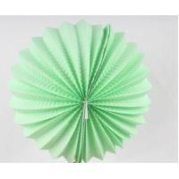 Quality Custom Patterned Printing Accordion Paper Lanterns Round For Home Decoration for sale