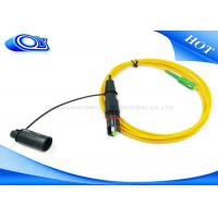 Quality Singlemode 3.0mm 2 Meter Fiber Optic Patch Cord Cable Optitap To SC / APC for sale