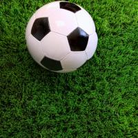 Quality Fields Artificial Grass Olive Green Bright Shinning With Strong UV Stable Yarns for sale