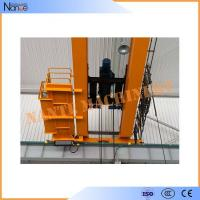 Quality 10 ton / 50 ton Dual Rail Electric Wire Rope Hoist Heavy Duty Winch Trolley for sale