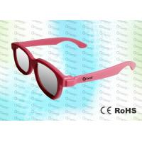 Quality ABS Plastic Cinema Use Circular polarized 3D glasses CP297GTS01RealD and Master Image  for sale