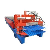 Quality Customized Steel Tile Double Layer Roll Forming Machine With Long Life Time for sale