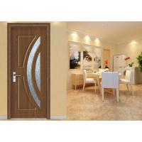 Quality Interior Frosted Glass MDF Wood Doors Bedroom Maximum Height 2350mm Office Building for sale
