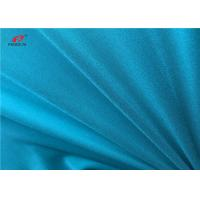 China Warp Knitted Dull Elastic Turquoise Lingerie Fabric 92% Nylon 8% Spandex  Lycra Fabric on sale