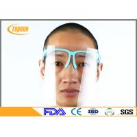 PET Clear Disposable Face Shield With Sponge Frame For Dental Protection