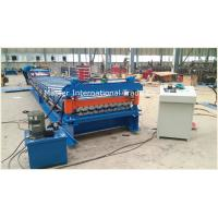101 R Model Roofing Sheet Roll Forming Machine With 15 Stations Forming Rollers