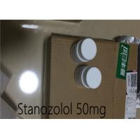 Quality Winstrol Stanozolol 50mg White Pill Oral Tablets Dht Androgenic Steroid for sale