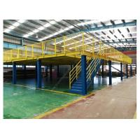 Quality Warehouse Storage Mezzanine Rack  And Platform Anti-rust Steel Shelf for sale