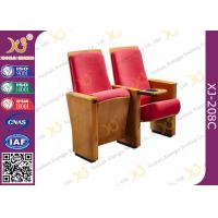 Buy cheap Rectangular Shape Auditorium Chiars USB Plywood Outerback With MDF Tablet         from Wholesalers