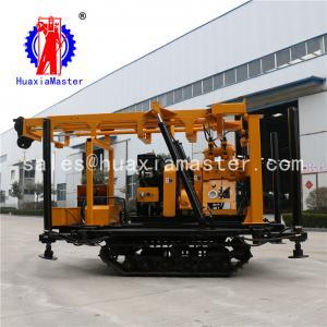 China Crawler hydraulic core drilling machine automatic telescopic drilling tower /hydraulic well drilling machine on sale