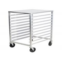Quality Bun Pan Bakery Oven Commercial Bakery Rack Trolley With Heat Resistant Wheels for sale