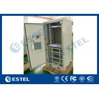 Sandwich Panel Outdoor Power Supply Cabinet Galvanized Steel Climate Controlled
