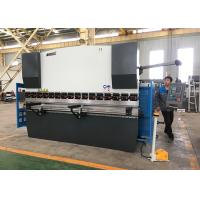 Quality High Accuracy Mini Press Brake Machine , Computerized Metal Brake With Light Guards for sale