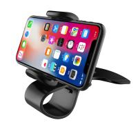 Quality Universal Dashboard Car Phone Holder Easy Clip Mount Stand Car Phone Holder GPS Display Bracket Classic Black Car Holder for sale