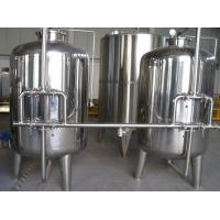 China Automatic Mineral Water Treatment Machine with Hollow Fiber Super Filter 1T - 30 Ton on sale