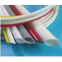 Quality Silicone Coated Fiberglass Tubing UL224 VW-1 Flame Retardancy for sale