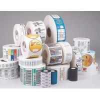 China Gloss Lamination Security Sticker Labels , Adhesive Printable Tamper Proof Labels on sale