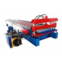 Buy cheap Popular Corrugated Steel Roofing Sheet Roll Forming Machine For Wall And Roof Of from wholesalers