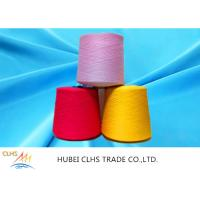 Quality 100% Virgin Spun Dyed Polyester Yarn 40 / 2  AA Grade For Sewing Thread / Embroidery for sale