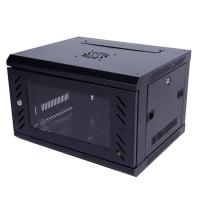 Buy cheap Wall Mount 6u Rack Cabinet Server Cabinet Sliding Shelf Cold Rolled Steel Plate from wholesalers